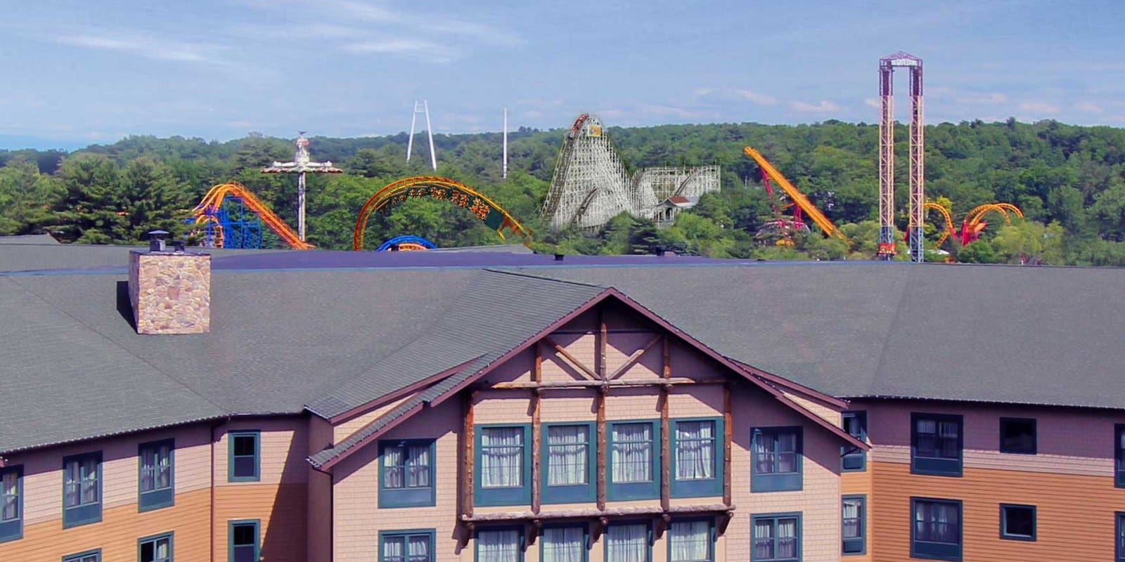 Six Flags Theme Park