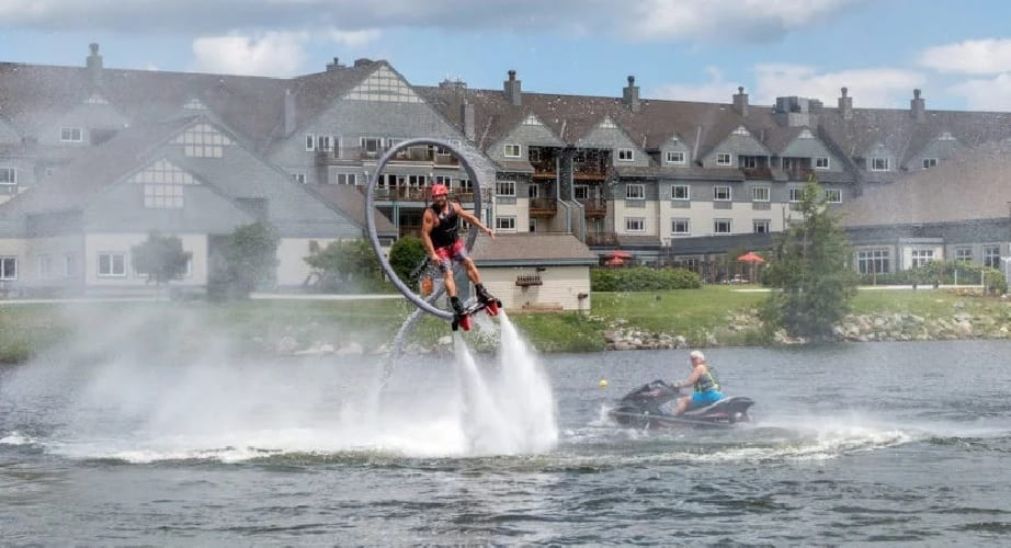 FlyBoarding, Killington Mountain